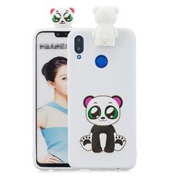 Panda Soft 3D Climbing Doll Stand Soft Case for Huawei Honor 8X