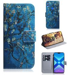 Apricot Tree PU Leather Wallet Case for Huawei Honor 8X