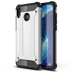 King Kong Armor Premium Shockproof Dual Layer Rugged Hard Cover for Huawei Honor 8X Max(Enjoy Max) - White