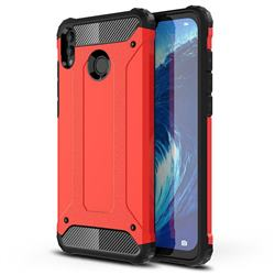King Kong Armor Premium Shockproof Dual Layer Rugged Hard Cover for Huawei Honor 8X Max(Enjoy Max) - Big Red