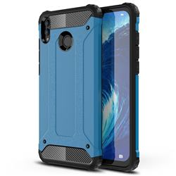 King Kong Armor Premium Shockproof Dual Layer Rugged Hard Cover for Huawei Honor 8X Max(Enjoy Max) - Sky Blue