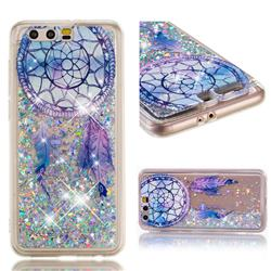 Fantasy Wind Chimes Dynamic Liquid Glitter Quicksand Soft TPU Case for Huawei Honor 9