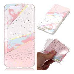 Matching Color Marble Pattern Bright Color Laser Soft TPU Case for Huawei Honor 9