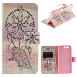 Dream Catcher PU Leather Wallet Case for Huawei Honor 9