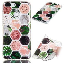 Rainforest Soft TPU Marble Pattern Phone Case for Huawei Honor 9 Lite