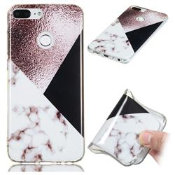 Black white Grey Soft TPU Marble Pattern Phone Case for Huawei Honor 9 Lite