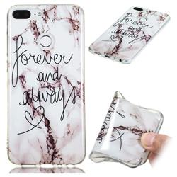 Forever Soft TPU Marble Pattern Phone Case for Huawei Honor 9 Lite