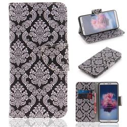 Totem Flowers PU Leather Wallet Case for Huawei Honor 9 Lite