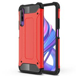 King Kong Armor Premium Shockproof Dual Layer Rugged Hard Cover for Huawei Honor 9X - Big Red