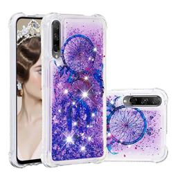Retro Wind Chimes Dynamic Liquid Glitter Sand Quicksand Star TPU Case for Huawei Honor 9X