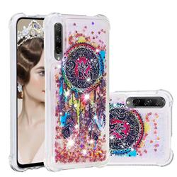 Seal Wind Chimes Dynamic Liquid Glitter Sand Quicksand Star TPU Case for Huawei Honor 9X Pro