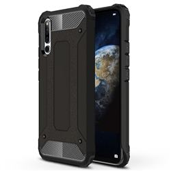 King Kong Armor Premium Shockproof Dual Layer Rugged Hard Cover for Huawei Honor Magic 2 - Black Gold