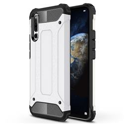 King Kong Armor Premium Shockproof Dual Layer Rugged Hard Cover for Huawei Honor Magic 2 - White