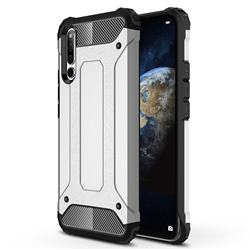 King Kong Armor Premium Shockproof Dual Layer Rugged Hard Cover for Huawei Honor Magic 2 - Technology Silver