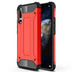 King Kong Armor Premium Shockproof Dual Layer Rugged Hard Cover for Huawei Honor Magic 2 - Big Red