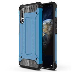 King Kong Armor Premium Shockproof Dual Layer Rugged Hard Cover for Huawei Honor Magic 2 - Sky Blue