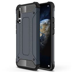 King Kong Armor Premium Shockproof Dual Layer Rugged Hard Cover for Huawei Honor Magic 2 - Navy