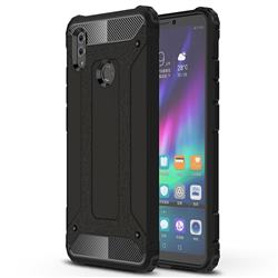 King Kong Armor Premium Shockproof Dual Layer Rugged Hard Cover for Huawei Honor Note 10 - Black Gold