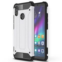 King Kong Armor Premium Shockproof Dual Layer Rugged Hard Cover for Huawei Honor Note 10 - White