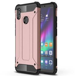King Kong Armor Premium Shockproof Dual Layer Rugged Hard Cover for Huawei Honor Note 10 - Rose Gold