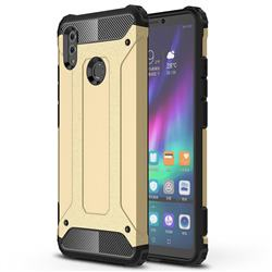 King Kong Armor Premium Shockproof Dual Layer Rugged Hard Cover for Huawei Honor Note 10 - Champagne Gold