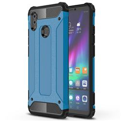 King Kong Armor Premium Shockproof Dual Layer Rugged Hard Cover for Huawei Honor Note 10 - Sky Blue
