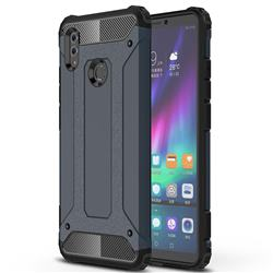 King Kong Armor Premium Shockproof Dual Layer Rugged Hard Cover for Huawei Honor Note 10 - Navy