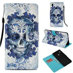 Cloud Kito 3D Painted Leather Wallet Case for Huawei Honor Note 10