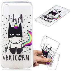 Batman Clear Varnish Soft Phone Back Cover for Huawei Honor Play(6.3 inch)
