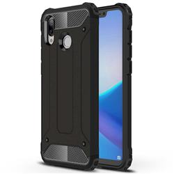 King Kong Armor Premium Shockproof Dual Layer Rugged Hard Cover for Huawei Honor Play(6.3 inch) - Black Gold