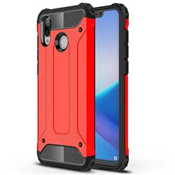 King Kong Armor Premium Shockproof Dual Layer Rugged Hard Cover for Huawei Honor Play(6.3 inch) - Big Red