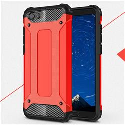 King Kong Armor Premium Shockproof Dual Layer Rugged Hard Cover for Huawei Honor View 10 (V10) - Big Red