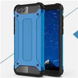 King Kong Armor Premium Shockproof Dual Layer Rugged Hard Cover for Huawei Honor View 10 (V10) - Sky Blue