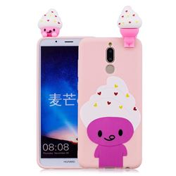 Ice Cream Man Soft 3D Climbing Doll Soft Case for Huawei Mate 10 Lite / Nova 2i / Horor 9i / G10