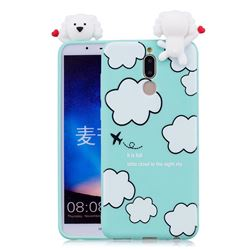 Cute Cloud Girl Soft 3D Climbing Doll Soft Case for Huawei Mate 10 Lite / Nova 2i / Horor 9i / G10