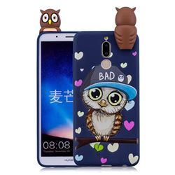 Bad Owl Soft 3D Climbing Doll Soft Case for Huawei Mate 10 Lite / Nova 2i / Horor 9i / G10