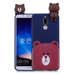 Cute Bear Soft 3D Climbing Doll Soft Case for Huawei Mate 10 Lite / Nova 2i / Horor 9i / G10