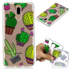 Cactus Ball Super Clear Soft TPU Back Cover for Huawei Mate 10 Lite / Nova 2i / Horor 9i / G10