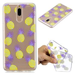 Carton Pineapple Super Clear Soft TPU Back Cover for Huawei Mate 10 Lite / Nova 2i / Horor 9i / G10