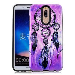 Starry Wind Chimes Pattern 2 in 1 PC + TPU Glossy Embossed Back Cover for Huawei Mate 10 Lite / Nova 2i / Horor 9i / G10