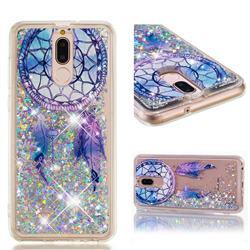 Fantasy Wind Chimes Dynamic Liquid Glitter Quicksand Soft TPU Case for Huawei Mate 10 Lite / Nova 2i / Horor 9i / G10