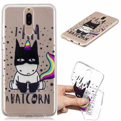 Batman Clear Varnish Soft Phone Back Cover for Huawei Mate 10 Lite / Nova 2i / Horor 9i / G10