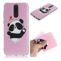 Heart Cat IMD Soft TPU Cell Phone Back Cover for Huawei Mate 10 Lite / Nova 2i / Horor 9i / G10