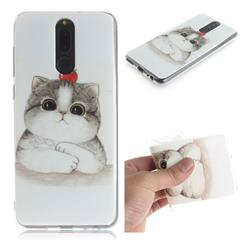 Cute Tomato Cat IMD Soft TPU Cell Phone Back Cover for Huawei Mate 10 Lite / Nova 2i / Horor 9i / G10