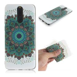 Peacock Mandala IMD Soft TPU Cell Phone Back Cover for Huawei Mate 10 Lite / Nova 2i / Horor 9i / G10