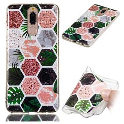 Rainforest Soft TPU Marble Pattern Phone Case for Huawei Mate 10 Lite / Nova 2i / Horor 9i / G10
