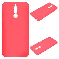 Candy Soft Silicone Protective Phone Case for Huawei Mate 10 Lite / Nova 2i / Horor 9i / G10 - Red