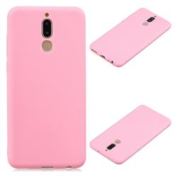 Candy Soft Silicone Protective Phone Case for Huawei Mate 10 Lite / Nova 2i / Horor 9i / G10 - Dark Pink