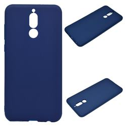 Candy Soft Silicone Protective Phone Case for Huawei Mate 10 Lite / Nova 2i / Horor 9i / G10 - Dark Blue