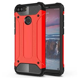 King Kong Armor Premium Shockproof Dual Layer Rugged Hard Cover for Huawei Mate 10 Lite / Nova 2i / Horor 9i / G10 - Big Red